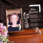 Your Memory is a Keepsake Personalized Glass Picture Frame