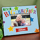 Personalized Brother Star Printed Frame
