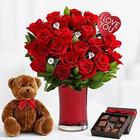 Ultimate Diamonds and Roses, Chocolates and Teddy Bear