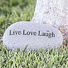 Live, Laugh, Love Large Garden Rock