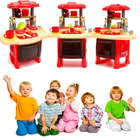 Kid's Pretend Kitchen Toy Set