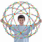 Expanding Rainbow Hoberman Sphere Toy
