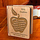 Personalized Teacher Wooden Photo Album