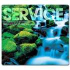 Service Waterfall Mouse Pad