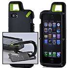 Black & Lime PX360 Rubberized Hard Impact iPhone 5 Case