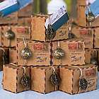 Vintage Airmail Favor Boxes