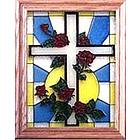 Easter Stained Glass Window