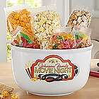 Personalized Family Movie Night Popcorn Bowl