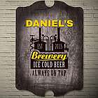 Basement Brewery Personalized Bar Sign