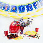 Birthday Decoration and Tableware Party Pack