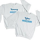 1 of 2 Twin Personalized Youth Sweatshirt