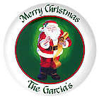 Personalized Santa Claus Platter