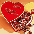 Heart-Shaped Valentine Chocolate Box