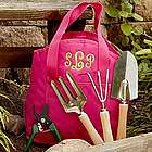 Personalized Garden Tote and Tool Bag