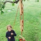 Kids Pulley Set with Wooden Reels and Nylon Ropes