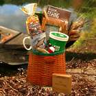 Fisherman's Fishing Creel Gift Basket
