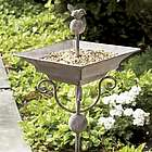 Garden Stake Bird Feeder/Birdbath