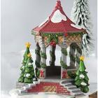 Miniature Fairy Garden Holiday Gazebo