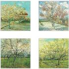 Van Gogh Tree Artwork Coasters