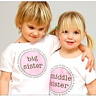 Personalized Middle Child Shirt