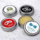 Exclusive Design Lip Balm Tin Favors