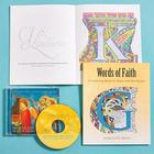 Words of Faith Coloring Book with CD