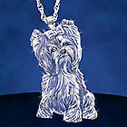 Light Of Devotion Dog Breed Crystal Pendant Necklace
