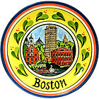 Boston Ceramic Plate