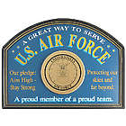 Handcrafted Wood Air Force Sign