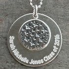 Graduate's Personalized Reach for the Stars Necklace