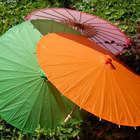 Color Paper Parasols