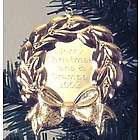 Engravable Wreath Ornament