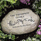 Our Family Personalized Garden Stone