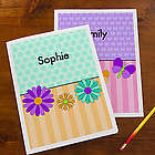 Just for Her Girl's Personalized Folders