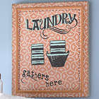Red Laundry Wall Art