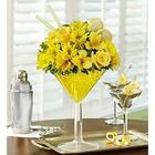 Lemon Drop Martini Bouquet of Flowers