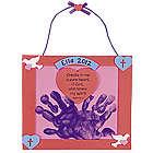 Handprint Psalm 51:10 Valentine Keepsake Craft Kit