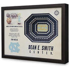 College Basketball Stadium Dimensional Wall Art
