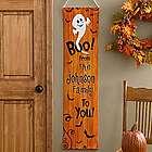 Personalized Halloween Door Banner