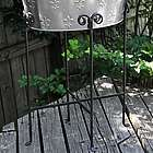 Flourish Wrought Iron Beverage Tub Stand