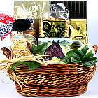 Best of Show Horse Theme Gourmet Gift Basket