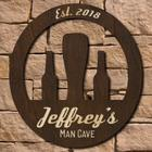Retro Personalized Man Cave Signature Series Sign