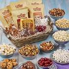 Popcorn and Snacks Holiday Gift Basket