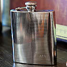 Deco Engraved Flask