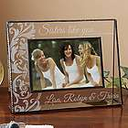 Sisters Like You Personalized Glass Picture Frame
