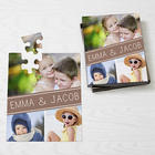 Family Photo Collage Personalized Puzzle