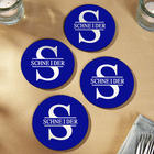 4 Personalized Oakmont Coasters