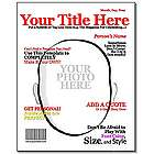 Make Your Own Title Personalized Magazine Cover