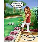 Gardening Caricature from Photo Personalized Print