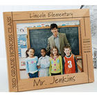 Personalized Picture Frame for Teacher